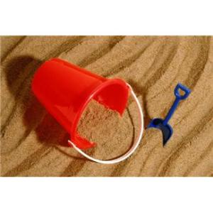 sand pail on the beach