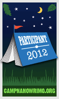 Camp NaNoWriMo Participant Badge 2012