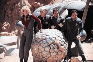 Beryllium Sphere and the cast of Galaxy Quest